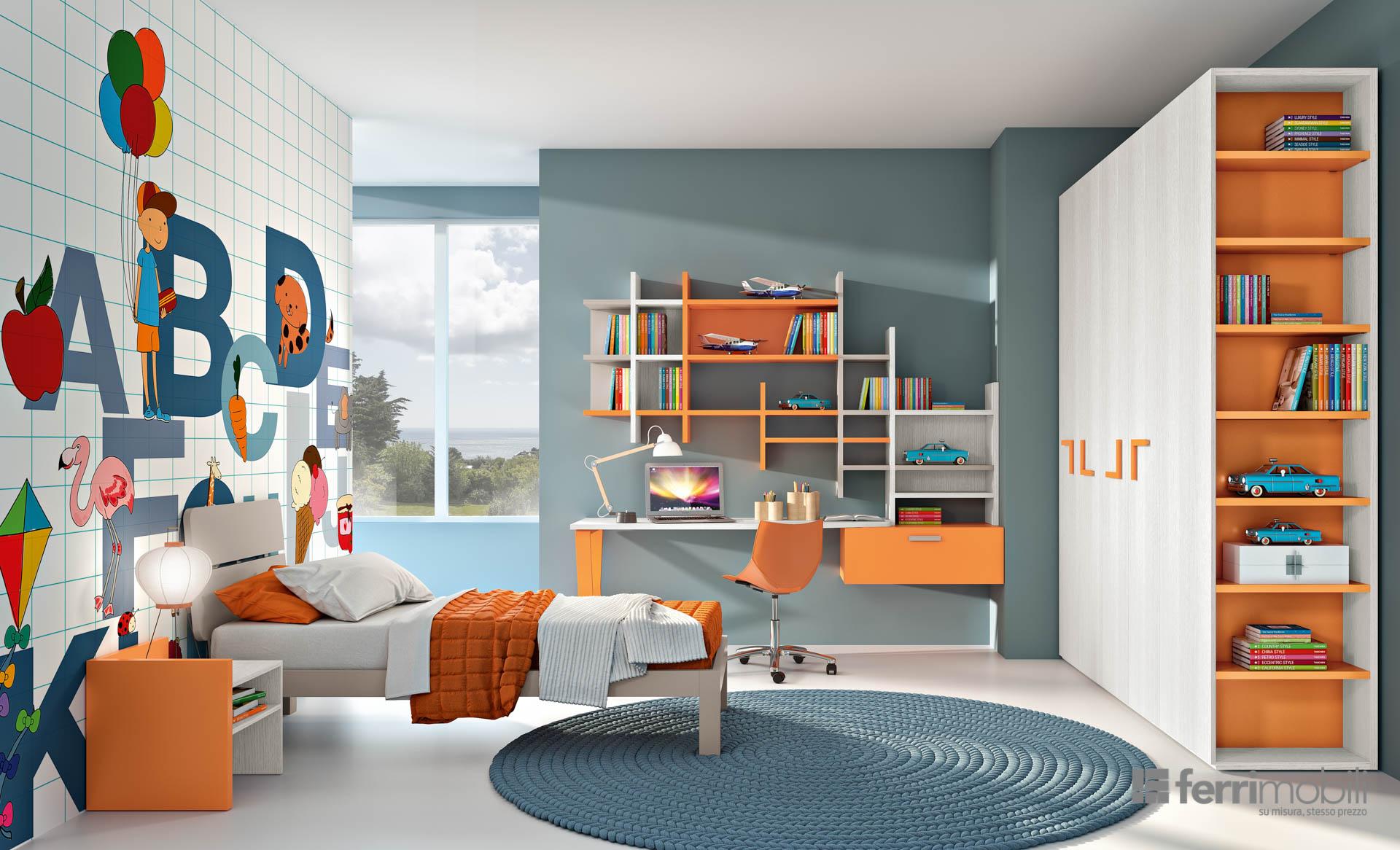 Idee Per Camere Ragazzi camera ragazzi : idee per i nostri figli